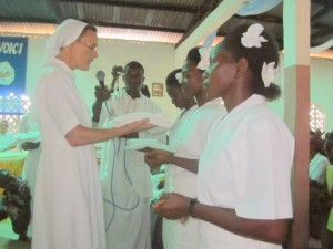 Premiers vœux chez les Sœurs de Sainte Catherine