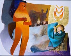 Nativité (Arcabas)