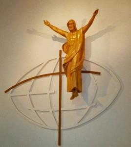 Christ ressuscité de Jacques Bourgault