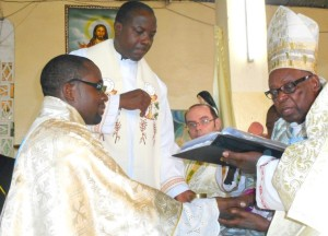 Ordination du frère Serge-Patrick