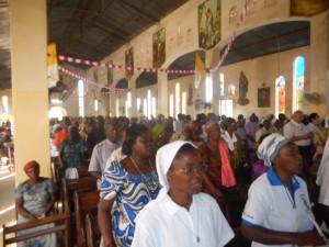 Célébration à la cathédrale