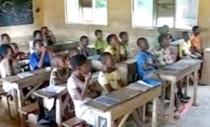Une école primaire au Togo