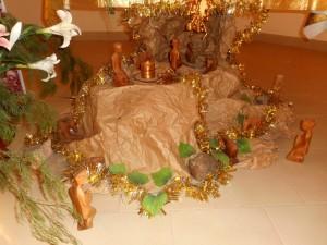 Dans notre chapelle, les mages sont arrivés...