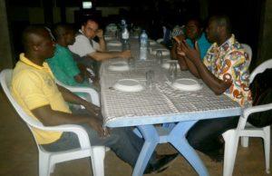 A Lomé avec quelques postulants